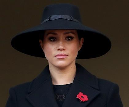 LONDON, ENGLAND - NOVEMBER 10: Meghan, Duchess of