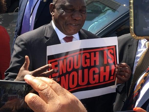 Ramaphosa gets tough on gender-based violence and femicide | City Press