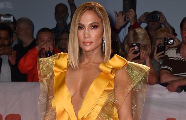 Jennifer Lopez at the Toronto Film Festival.