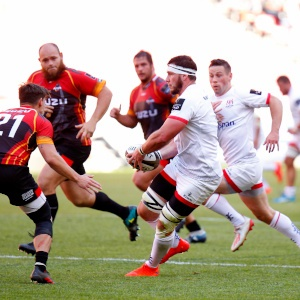 Marcell Coetzee  of Ulster during the Guinness Pro14 match between Isuzu Southern Kings and Ulster at Nelson Mandela Bay Stadium on October 12, 2019 in Port Elizabeth, South Africa. (Photo by Michael Sheehan/Gallo Images)