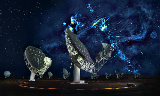 Germany is investing R400 million to expand South Africa's giant MeerKAT telescope
