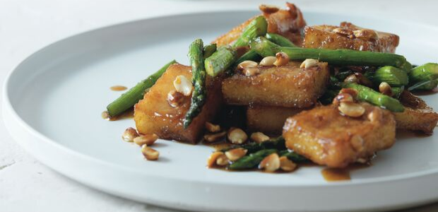 stir-fried crispy pap