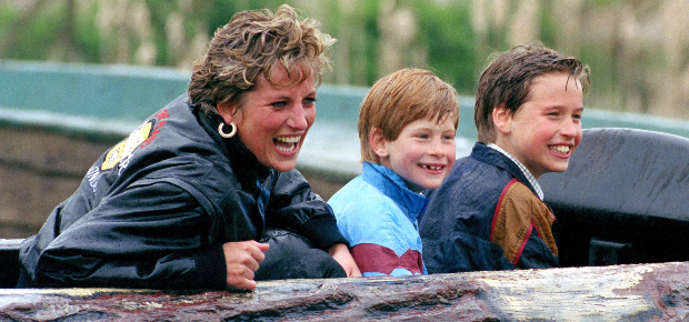Princess Diana, Prince Harry and Prince William (Photo: Getty/Gallo Images)