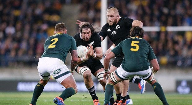 Sam Whitelock, All Blacks, Malcolm Marx, Springbok