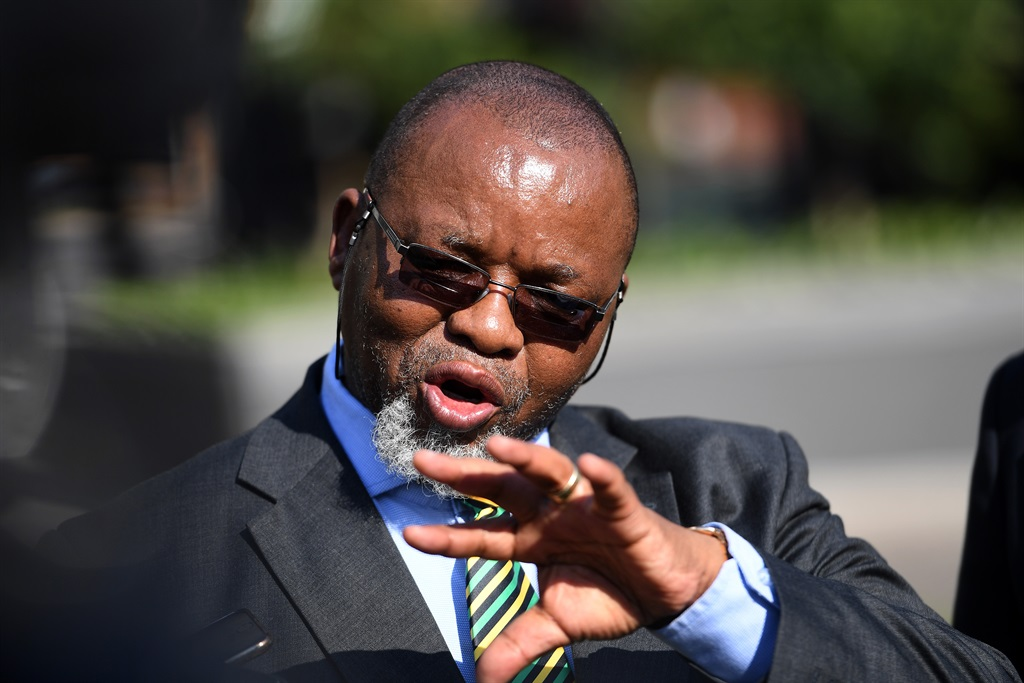 It is a myth that only branches can touch ANC leaders - Gwede Mantashe - News24