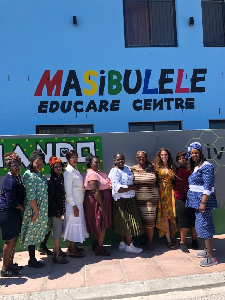 The Masibulele Educare Centre celebrated their official opening on October 12, 2019. (Supplied, Olivia Krok)