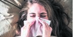 Some hay fever sufferers in South Africa blame their nasal allergy for ruining a special moment.PHOTO: NEWS24