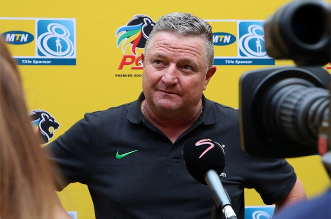 Gavin Hunt, coach of Kaizer Chiefs during the 2020