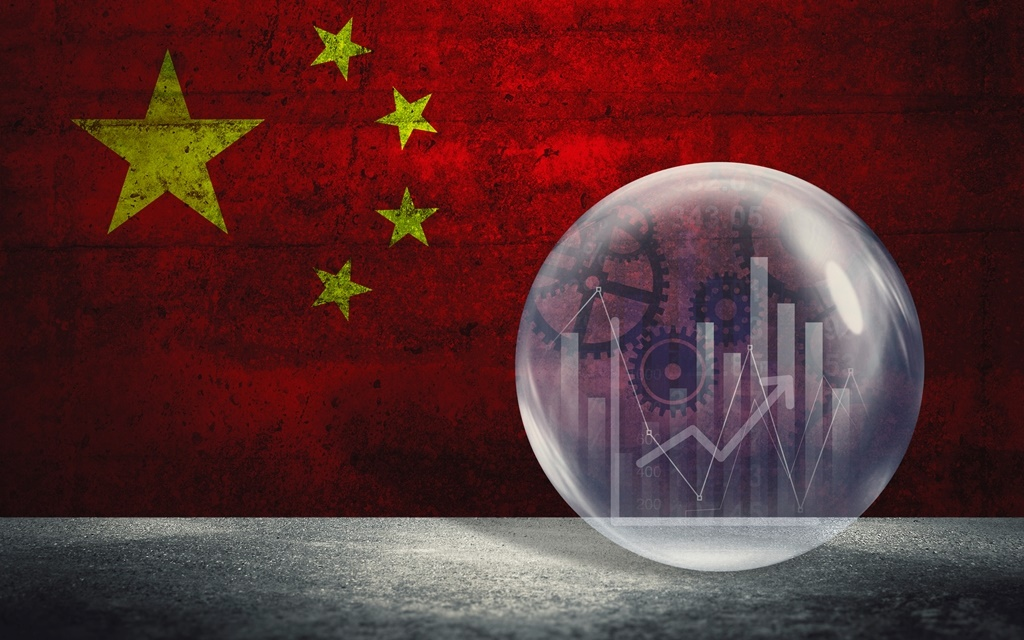 Financial bubble with Chinese national