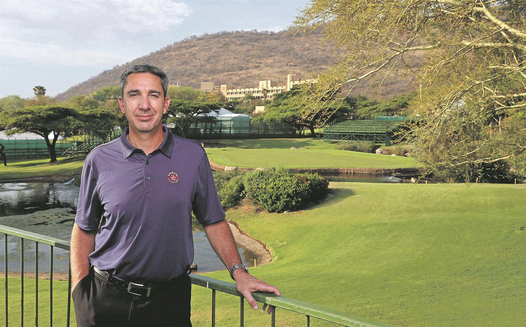ready Ken Payet says the Nedbank Golf Challenge will be a marvel to watch PHOTO: Grant Leversha
