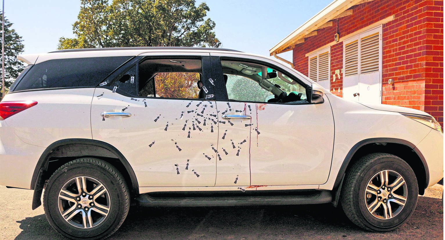 The chairperson of Bergville Taxi Association, Eunice Ngcobo, was shot dead along with her daughter (25).