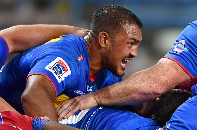 Stormers lock Salmaan Moerat in action during their 23-17 Super Rugby Unlocked win over the Lions at Newlands on 17 October 2020.