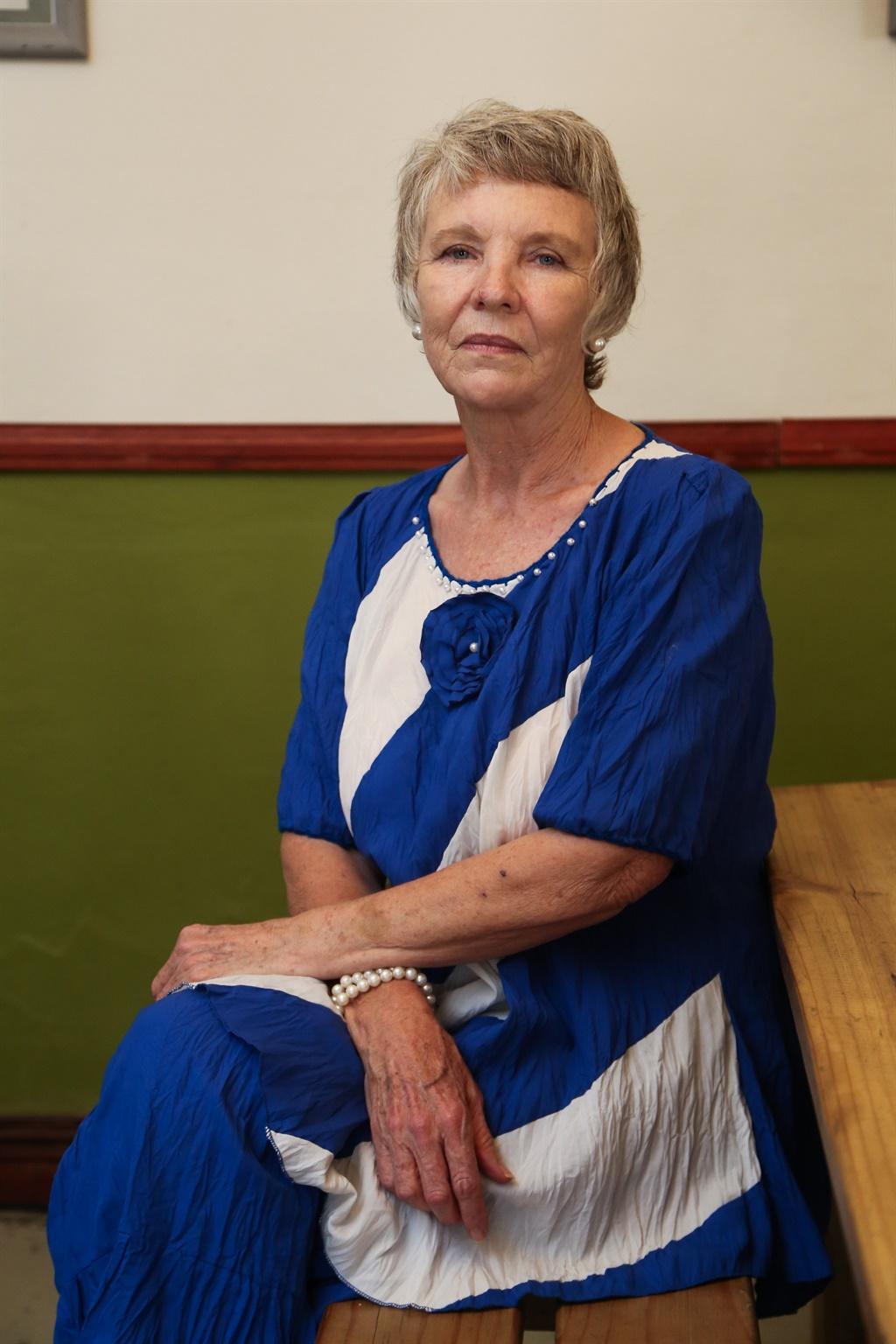 Nadat Gerhard Janse van Vuuren aan Suid-Afrika uitgelewer is, het sy ma, Thea Pretorius, hoop op vrede. Foto: Gallo Images/Media24/Luba Lesolle