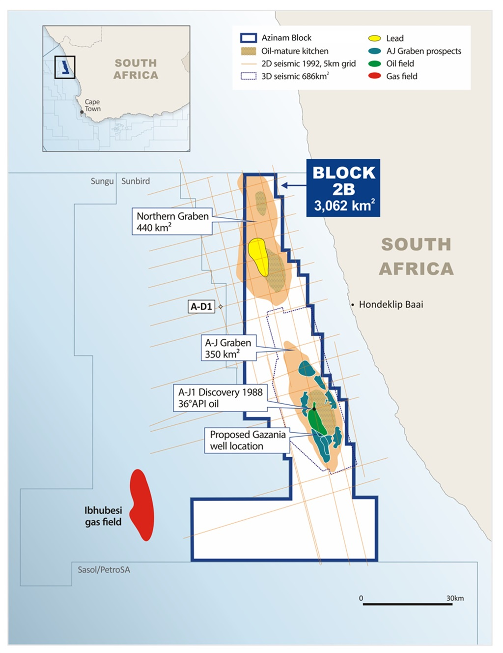 Oil offshore south africa