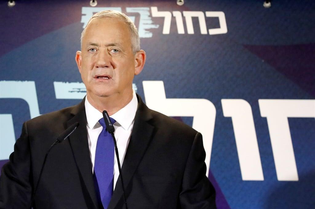 News24.com | Gantz sê hy moet die volgende Israeliese premier wees