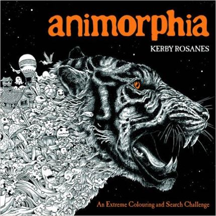 For Those Looking The Ultimate Challenge In Colouring Books Animorphia Will Be Right Up Your Alley Detailed To Extreme And Featuring Images Within
