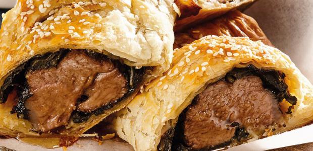 Pork pastry rolls