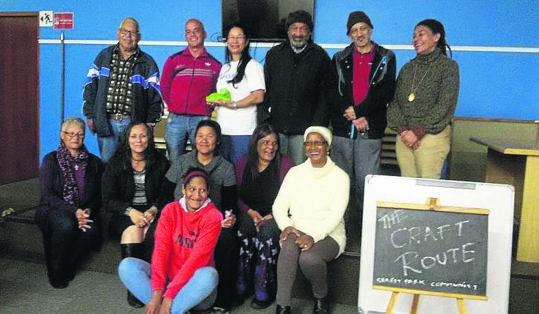 Members of Grassy Park who are part of the Craft Route.