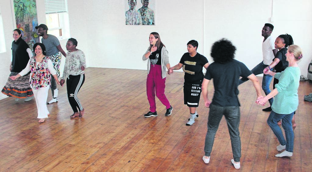 Becht told the participants that dancing has the ability to unite people.PHOTO: siphesihle notwabaza