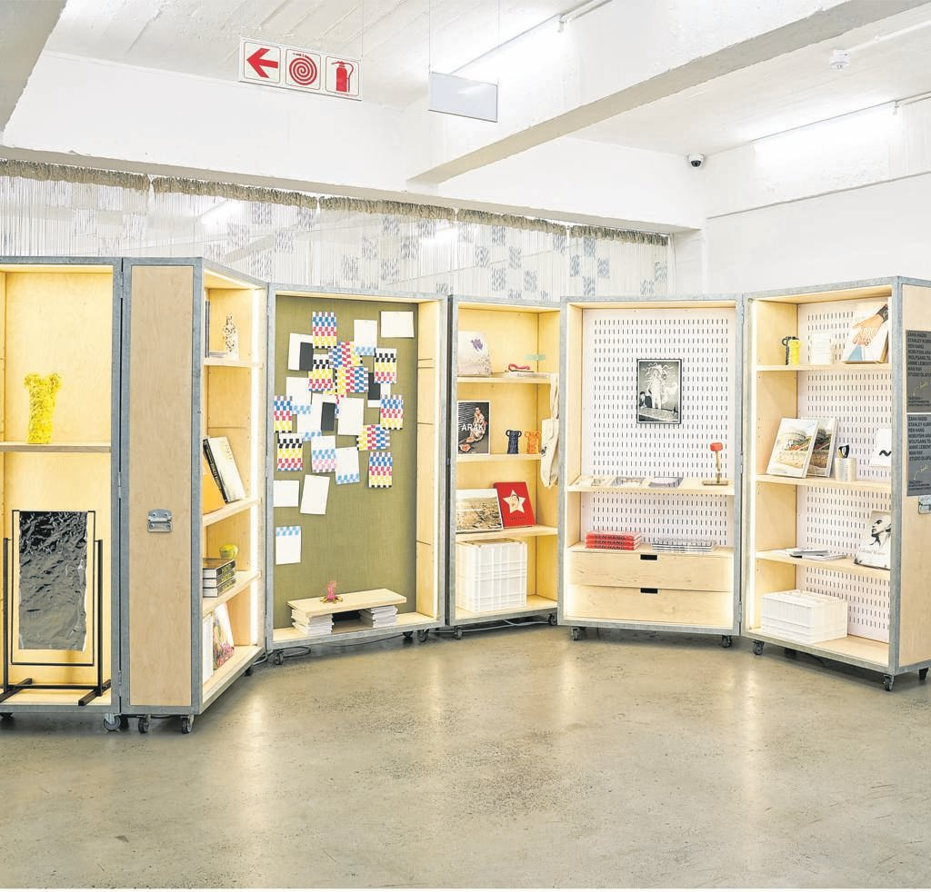 The interior of Proto~, a shop within the A4 Arts Foundation in District Six.