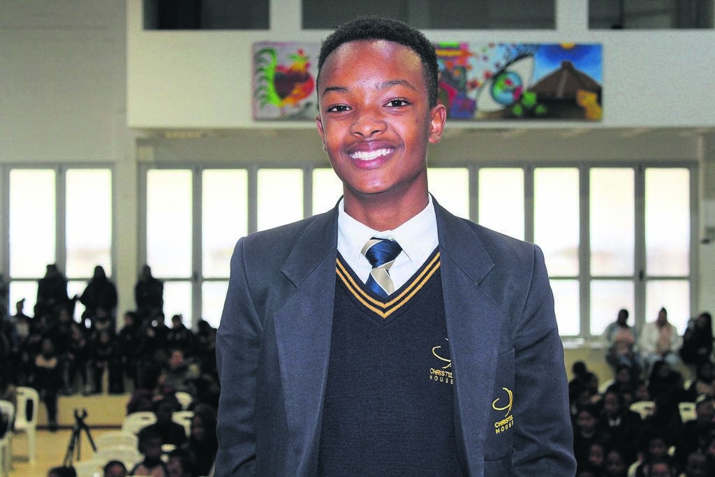 Noni Adams, a Grade 10 learner and aspiring astrophysicist. PHOTO: Lisa Lottering