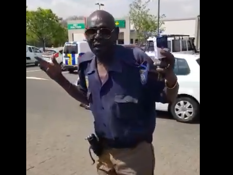 An EMPD traffic officer, who was filmed while allegedly intoxicated on duty, has been suspended.