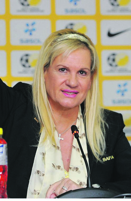 Anastasia Tsichlas has urged the PSL to deal with obnoxious coaches             PHOTO: Sydney Mahlangu / BackpagePix