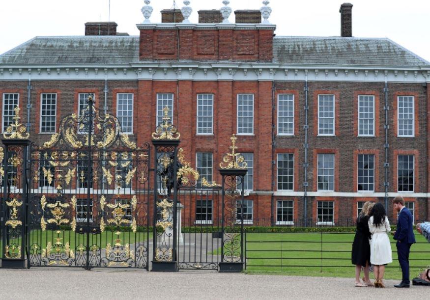 Die paar se huis by Kensington paleis