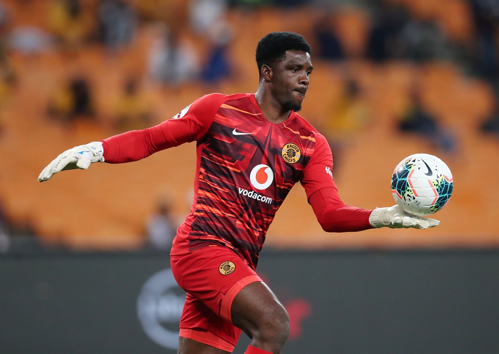 Daniel Akpeyi of Kaizer Chiefs  during the Absa Pr