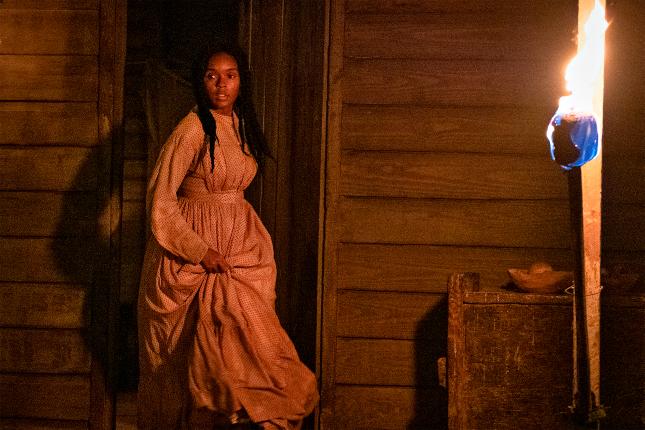 Janelle Monáe stars in the mind-bending horror-thriller Antebellum.