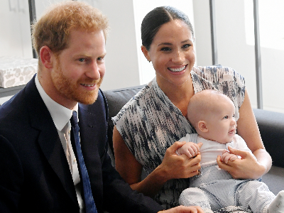 Duke and Duchess of Sussex with their son Archie (Photo: Getty/Gallo Images)