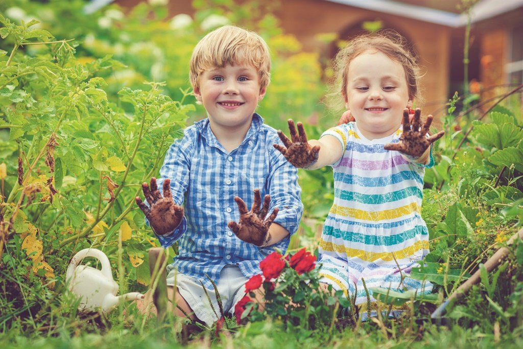 Moedig jou kinders aan om 'n groente- tuin te begi
