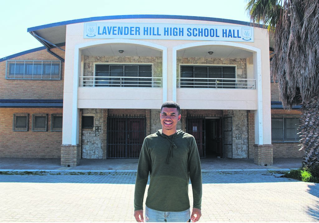 Reuben Isaacs encourages parents to send their children to his Sunday school twice a month to keep children off the streets.PHOTO: Racine Edwardes