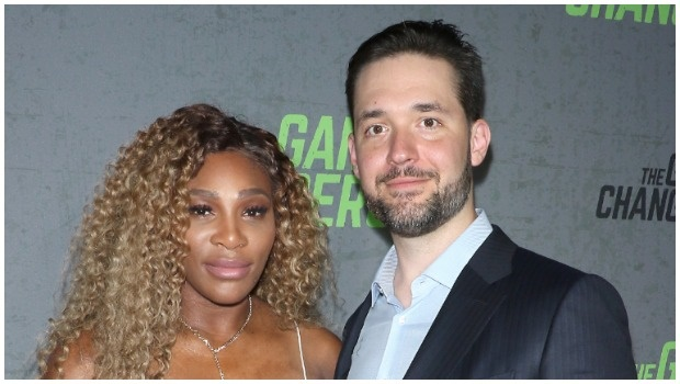 Serena and Alexis Ohanian. (Photo: Getty Images/Gallo Images)