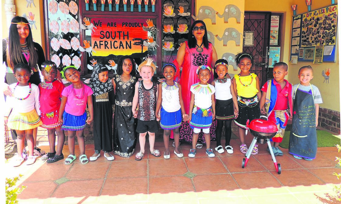 Kidz Palace Day Care & Educare celebrated Heritage Day on Tuesday, September 24.PHOTO:SUPPLIED