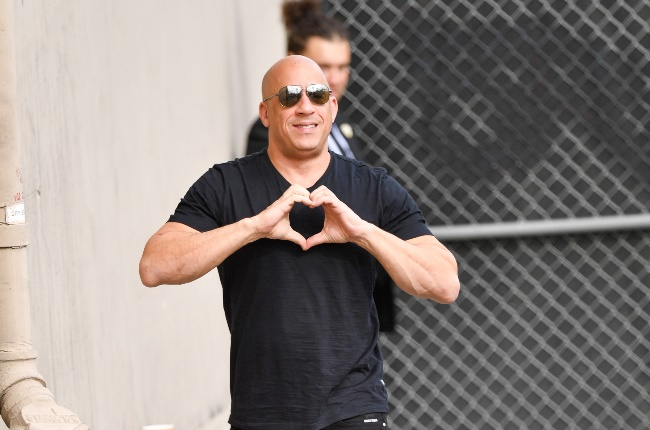 Actor Vin Diesel recently shared his dance moves on TikTok. (PHOTO: Getty Images/Gallo Images)