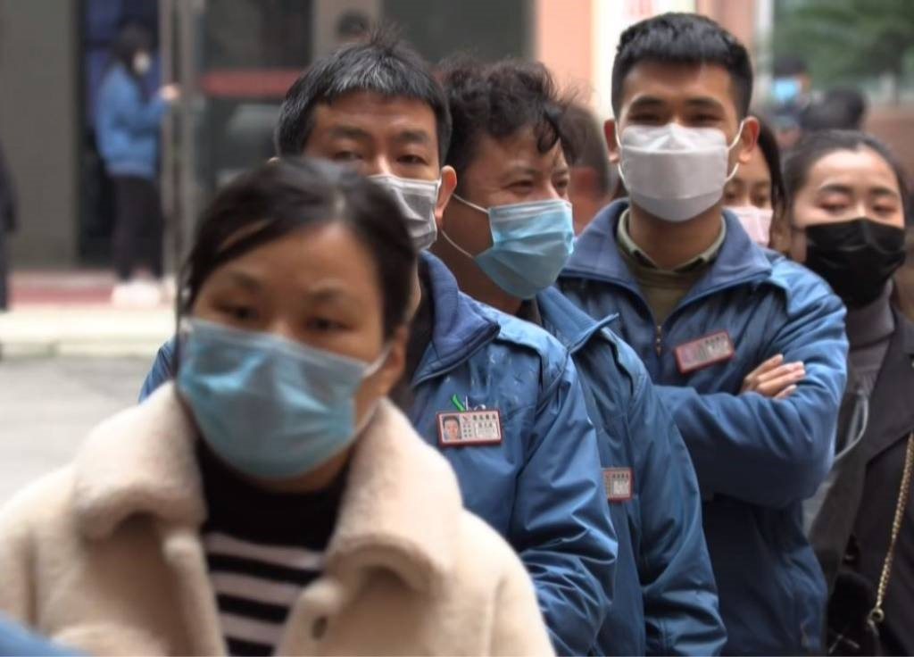 Chinese factories are struggling to resume full operations amid virus-induced travel disruptions and safety measures.