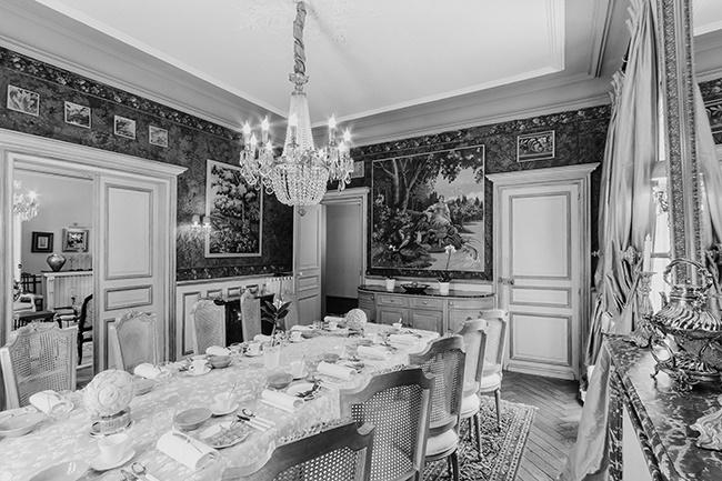 A look inside Château de la Creuzette. (Photo: Supplied)