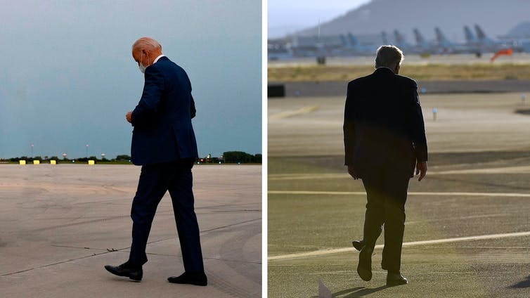 One of these men will walk away from the 2020 race a loser. But who? Jim Watson/AFP via Getty, Mandel Ngan/AFP via Getty