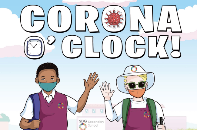 Conora O'clock is a new comic strip that will help learners navigate Covid-19, including learners with special needs