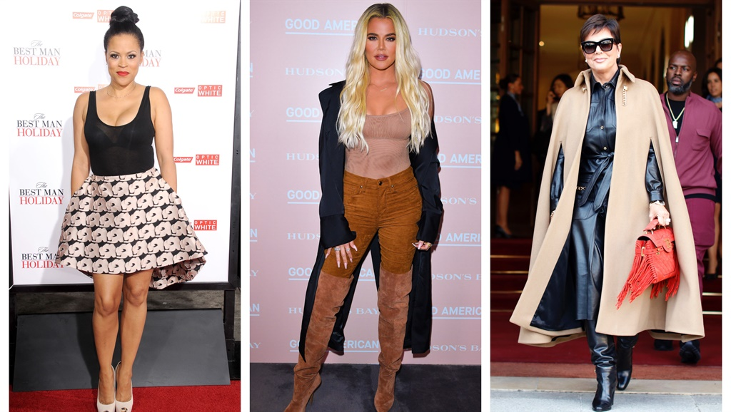 Shaunie O'Neal, Khloe Kardashian and Kris Jenner. Images: Barry King, George Pimentel and Iconic. Collage by writer