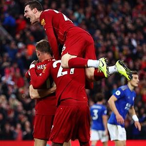 Liverpool celebrate (Getty)
