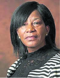 Chief magistrate Mpho Evelyn Monyemore.