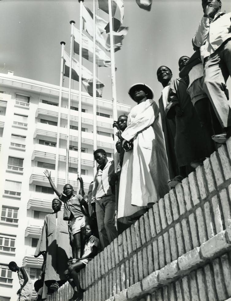 Dakar in April 1966. (Photo: Musee Quai Branly/ Su