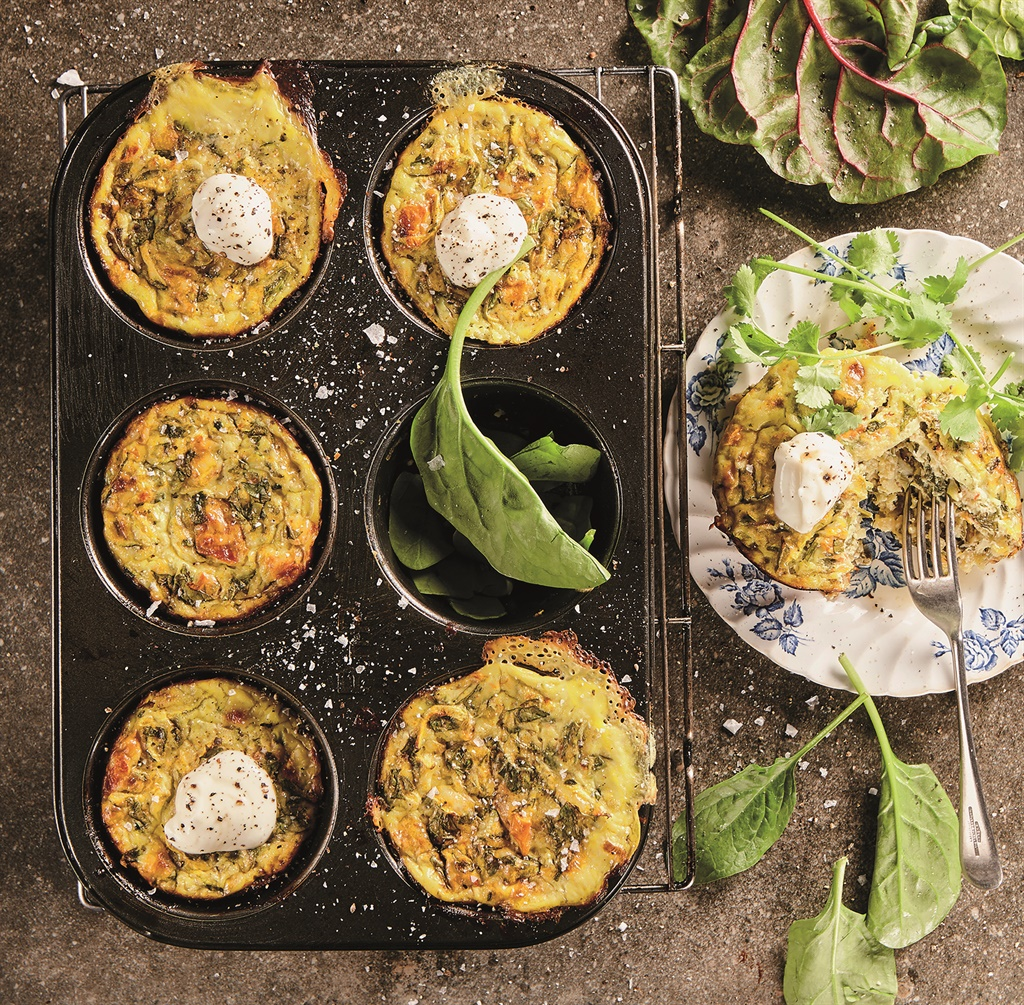 Frittata-muffins. Foto: Jacques Stander