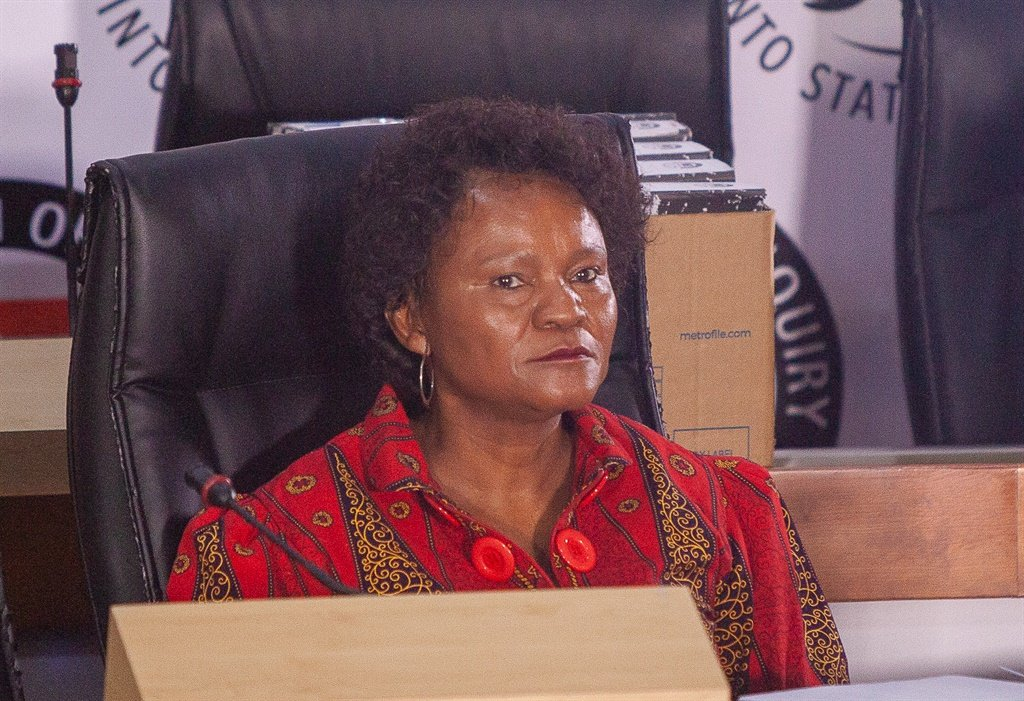 Yakhe Kwinana, former chairman of SAA Technical and a former SAA board member, testified before the Zondo commission. Picture: Gallo Images