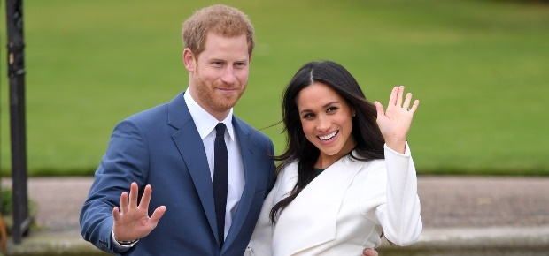 Prince Harry and Meghan. (PHOTO: Getty/Gallo Image
