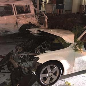 Police have registered a case of reckless and negligent driving after a truck driver lost control and crashed into about 20 cars parked at the Flanders Mall in Mount Edgecombe, KwaZulu-Natal, on Thursday evening.