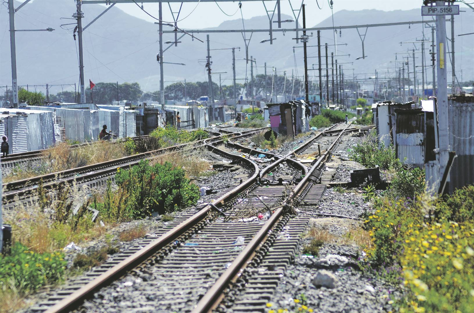 The six-month campaign, whose planning started in December, is driven by Prasa and the department of correctional services, is intended to restore the rail infrastructure ahead of the resumption of services in some corridors. Picture: Lulekwa Mbadamane