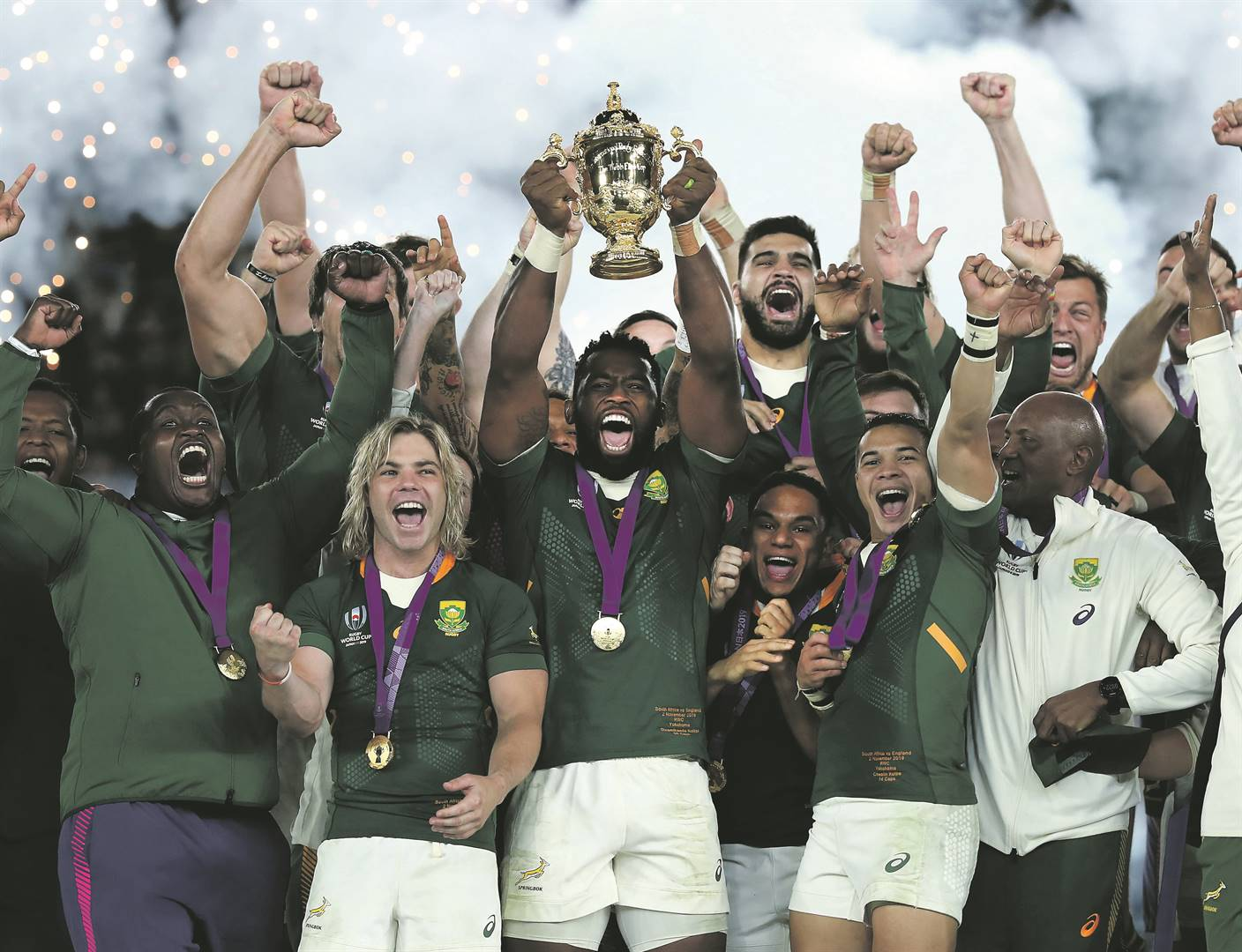 WORLD CHAMPIONS: With the Springboks unlikely to play test matches this year, SA Rugby has a B plan